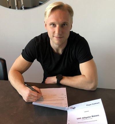 Anton Vestlund komplettiert die Malanser Söldner-Crew