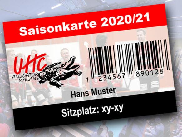 Vorverkauf Saisonkarten 2020-21 gestartet.