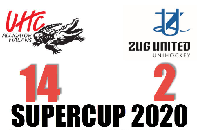 Kantersieg im Supercup Halbfinal.